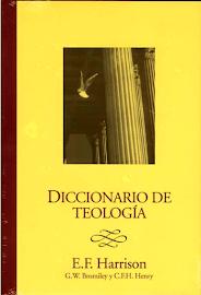 DICCIONARIO DE TEOLOGÍA - EVERETT F. HARRISON