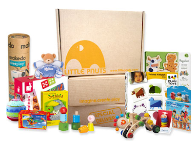 New Monthly Subscription Box  Alert! Little Pnuts - Kid's Toy Subscription