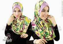 Nuhijab Instan Bergo Flower – Purple