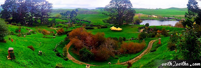 Hobbiton Panoramic View