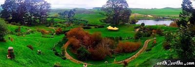 Hobbiton Panoramic View