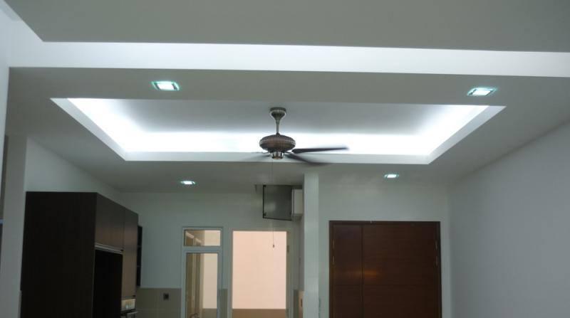 House renovation ubah suai rumah di ipoh pakar semua for Plaster ceiling design price