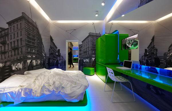 urbaner Urlaub-Reise in Mailand, Italien