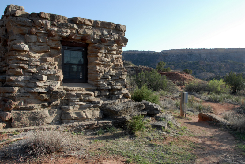 Palo duro canyon and where the locals eat in lubbock texas for Cabins near palo duro canyon state park