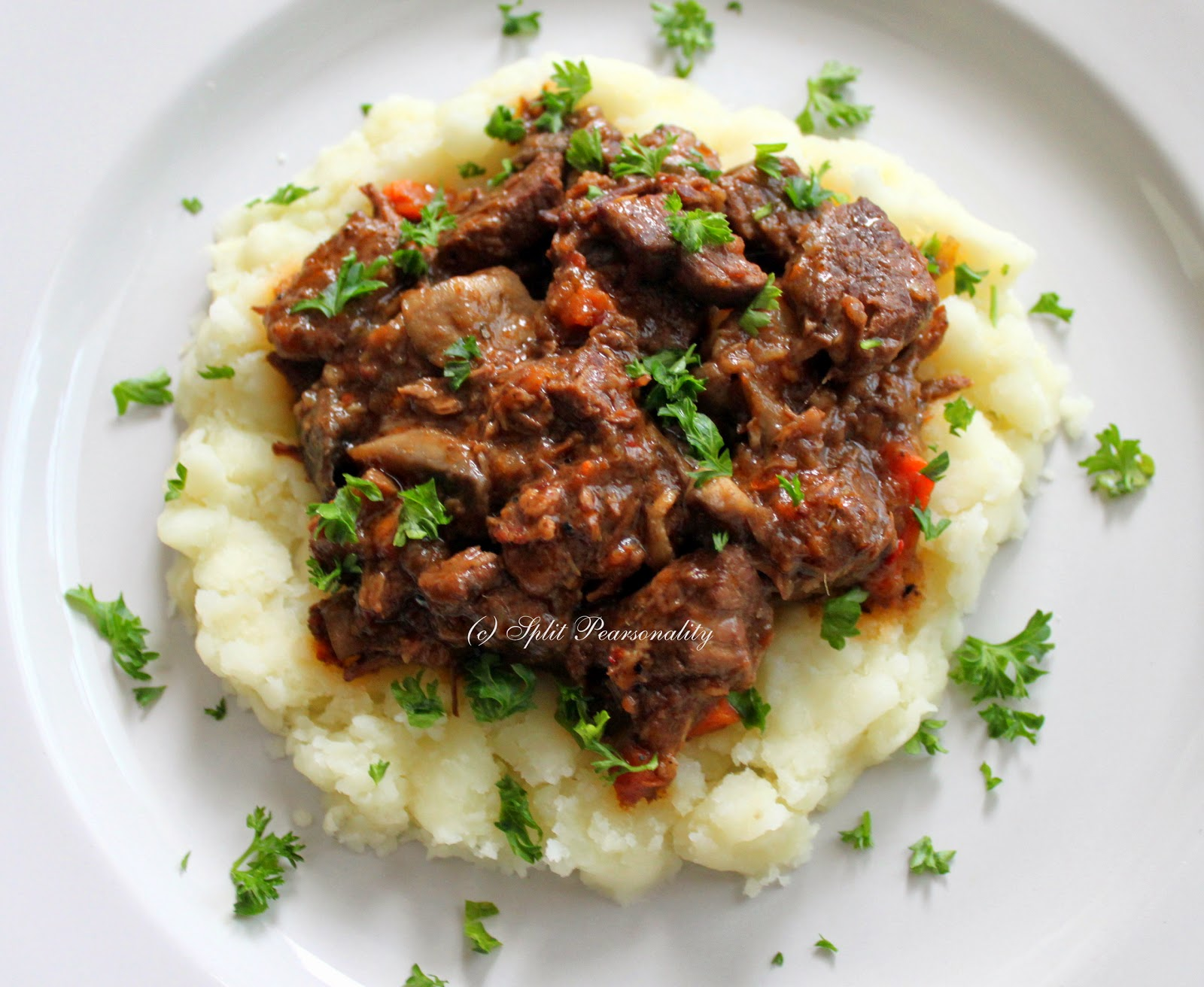 Split Pearsonality Recipe Collection: Julia Child's Boeuf ...