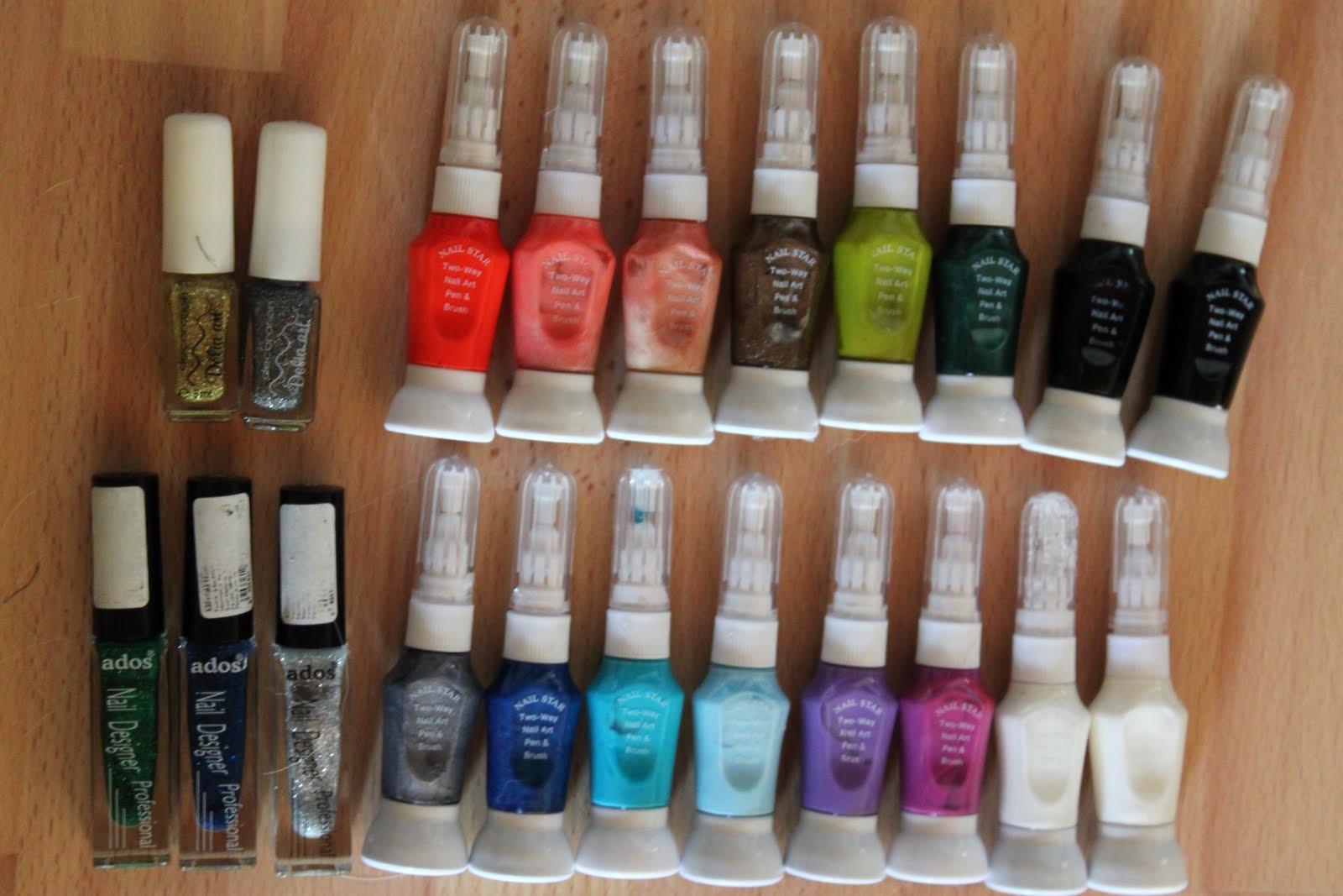 Crazy About Nails: My nail polish/ nail art stuff collection