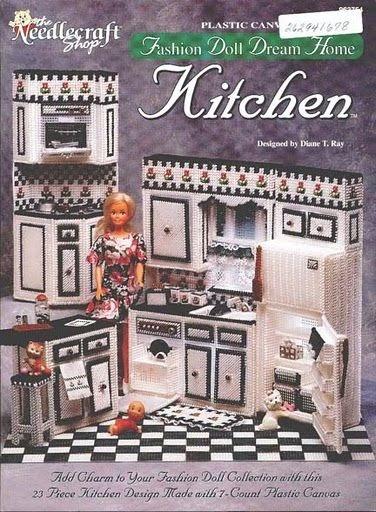 Nueva cocina para tu barbie labores de esther todo para for La casa de mi gitana muebles