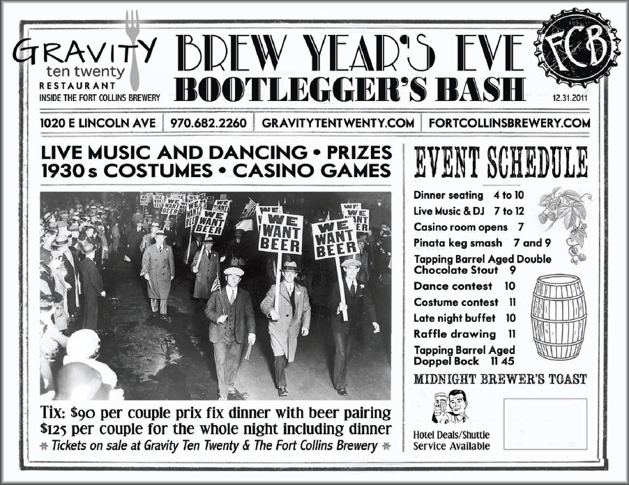 Fort Collins Brewery Bootlegger's Bash