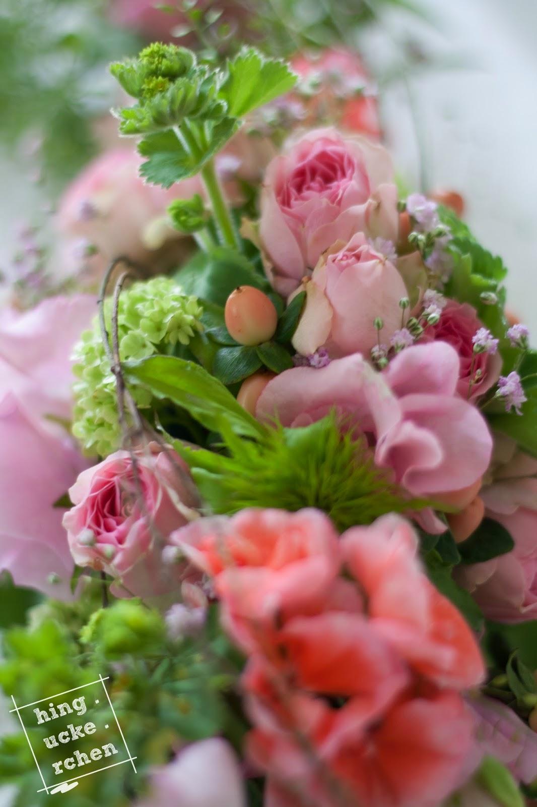 Hinguckerchen Hochzeit Reis Und Blumen