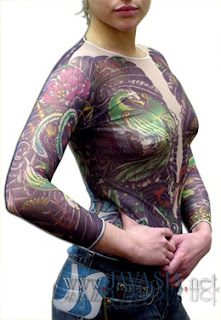 Cool Japanese Shirt Sleeve Tattoo Designs