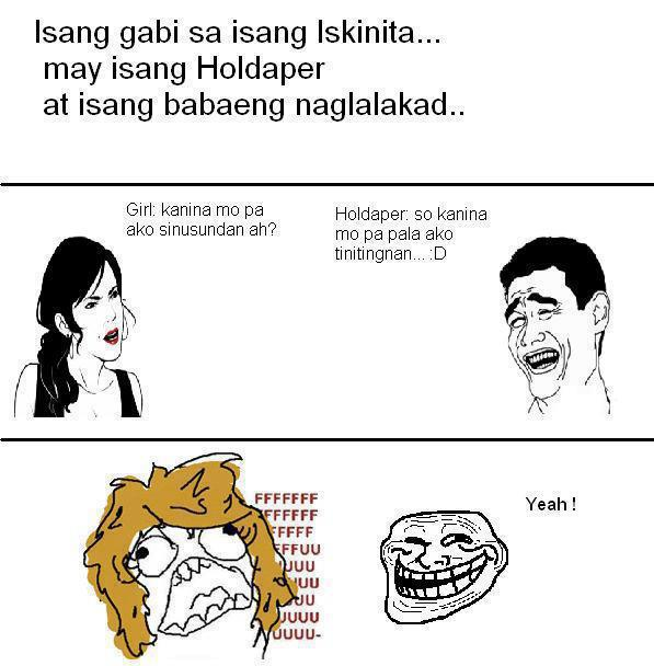Funny Holdaper Pinoy Jokes Images