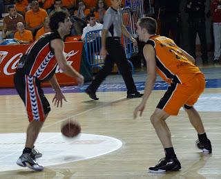 Berni Rodríguez y Jon Cortaberría.