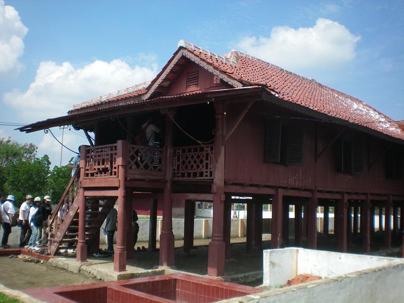 Rumah Si Pitung yang telah dijadikan Cagar Budaya