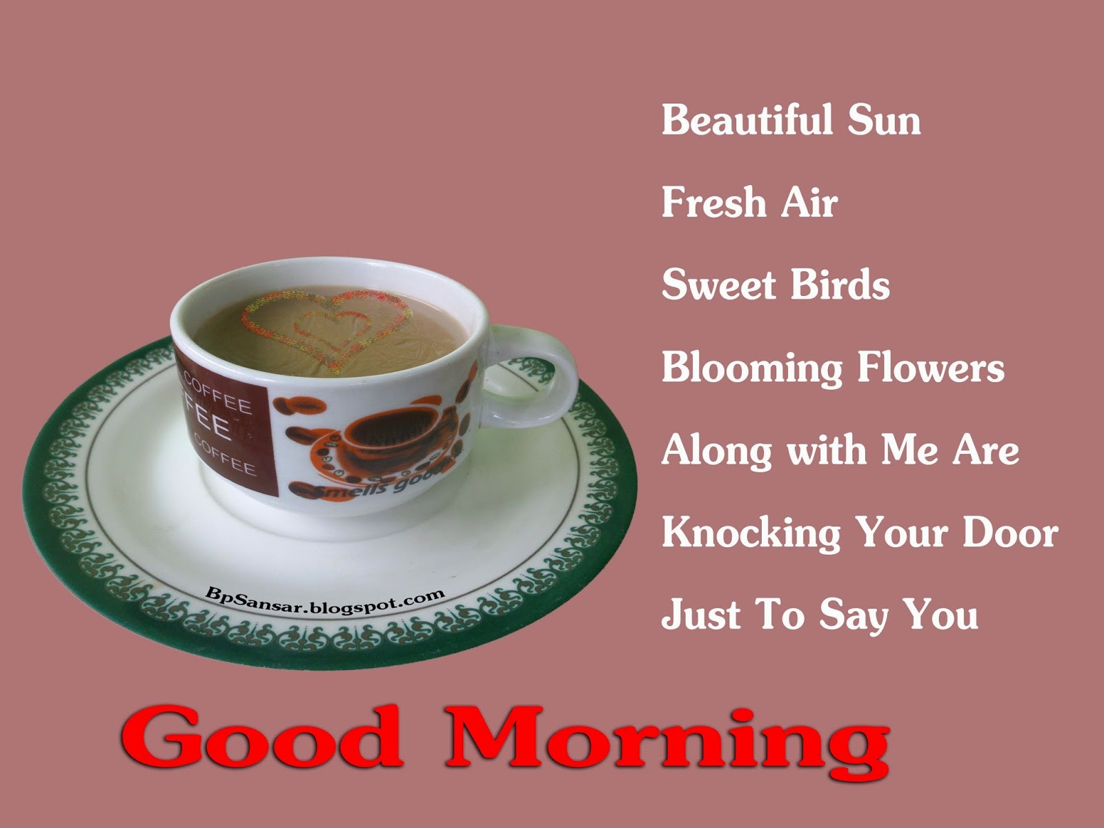 Good Morning Greeting To Share 2014 All Greeting Card Collection