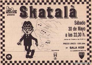 entrada de concierto de skatala