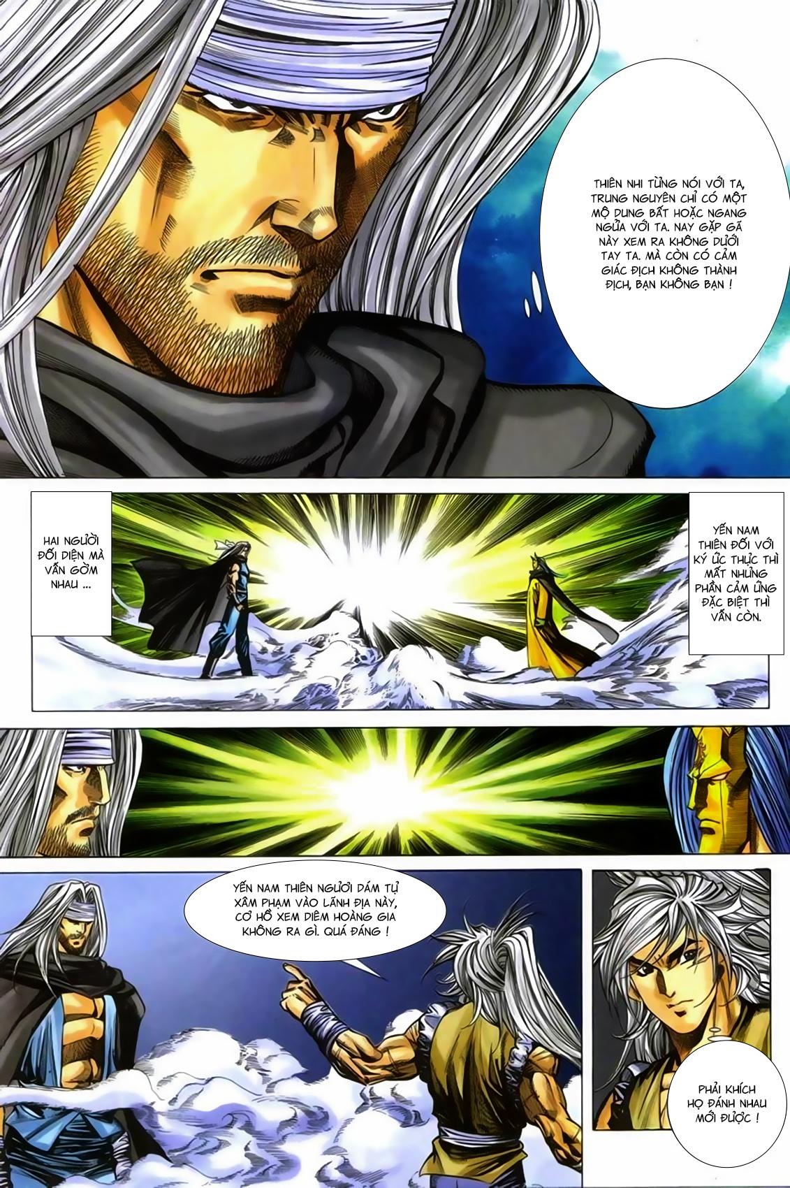 Song Hùng Kỳ Hiệp Chap 277 - Trang 10