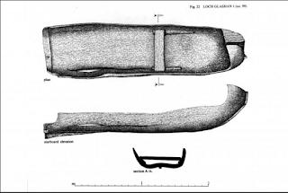 Loch Glashan logboat plans