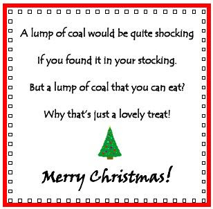 Lump of Coal poem