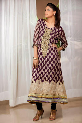 Pure-line-Chiffon-Dresses