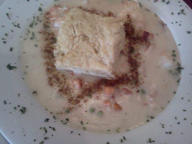 Norman's Bistro Shrimp Pot Pie