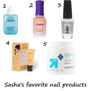 Favorite Nail Products