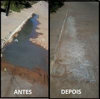 Gentio do Ouro – Resolvido à Situação do Esgoto a Céu Aberto da Rua Edmundo Pereira Bastos: