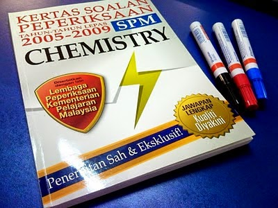 Chemistry Trial Papers SPM 2014