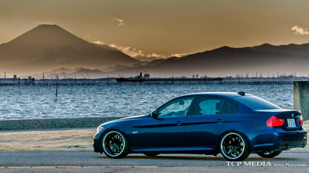 BMW E90 TE37TTA Rays Volk