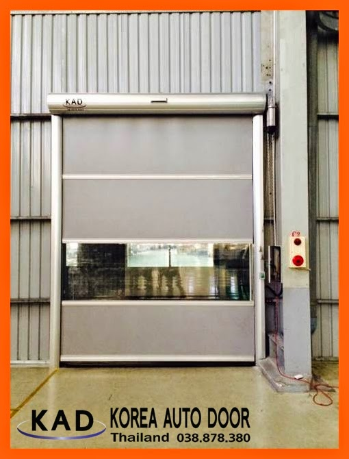 high speed door installed in thailand