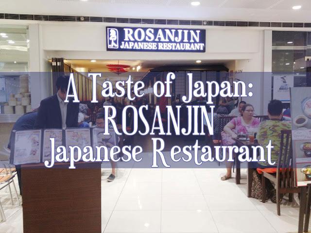 A Taste of Japan: Rosanjin Japanese Restaurant