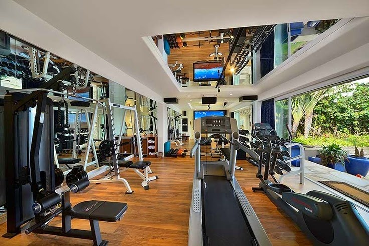 Home gym mark wahlberg  GYMSPIRATION: The best gyms in the world! | Hollie Evelyn