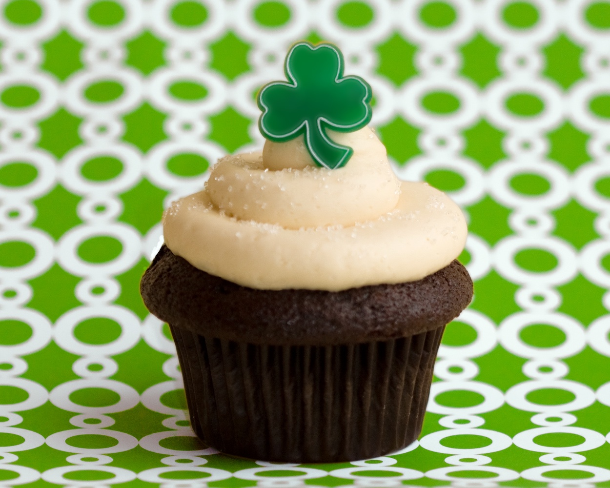 Irish Eyes are Smiling at Trophy Cupcakes and Party!
