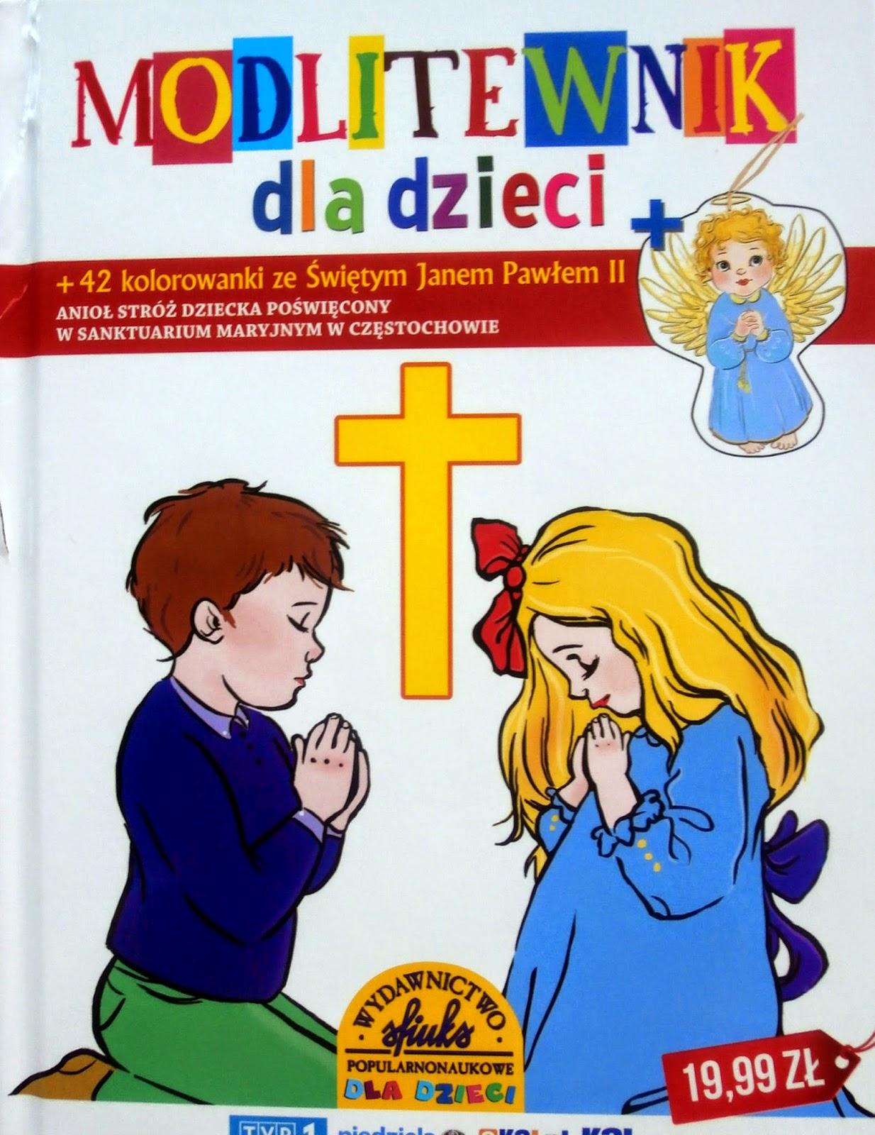 Modlitewnik dla dzieci.