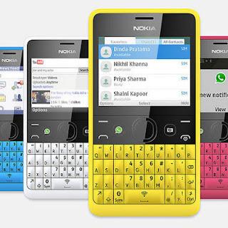 meluncurkan handphone terbaru yang bermodel qwerty produk terbaru