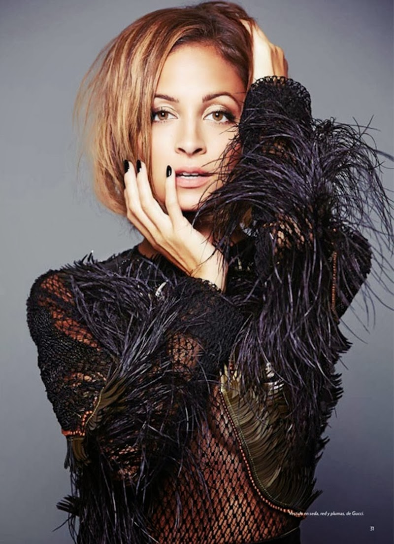 Nicole Richie For Marie Claire Mexico February 2014