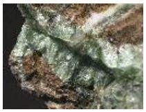 Batuan mineral talk yang memiliki tenacity yang fleksibel