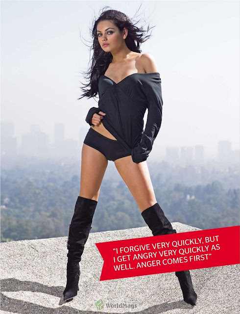 Mila Kunis-FHM South Africa October 2011 issue