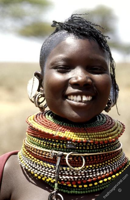 African Tribal Women On tribal jewlerry,