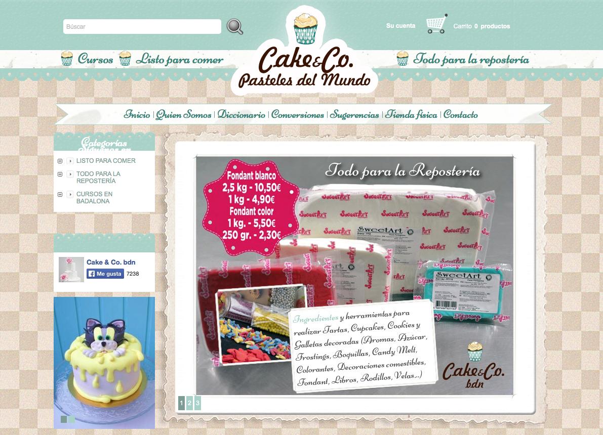CAKE&CO PASTELES DEL MUNDO REPOSTERÍA CREATIVA
