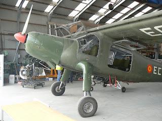 Dornier DO-27 de l'FPAC.