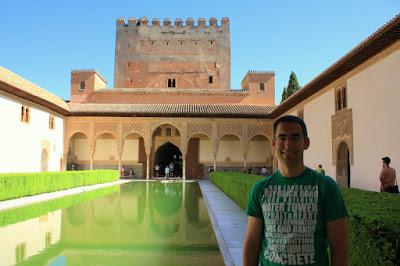 Arrayanes Courtyard in La Alhambra de Granada