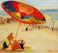 LLUÍS MASRIERA i ROSÉS En la playa 1928