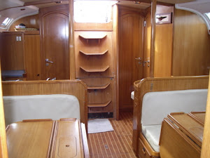 The Salon looking aft
