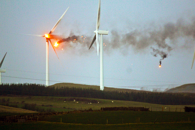 The Druid: Fighting for Anglesey: Explosive Wind Turbines