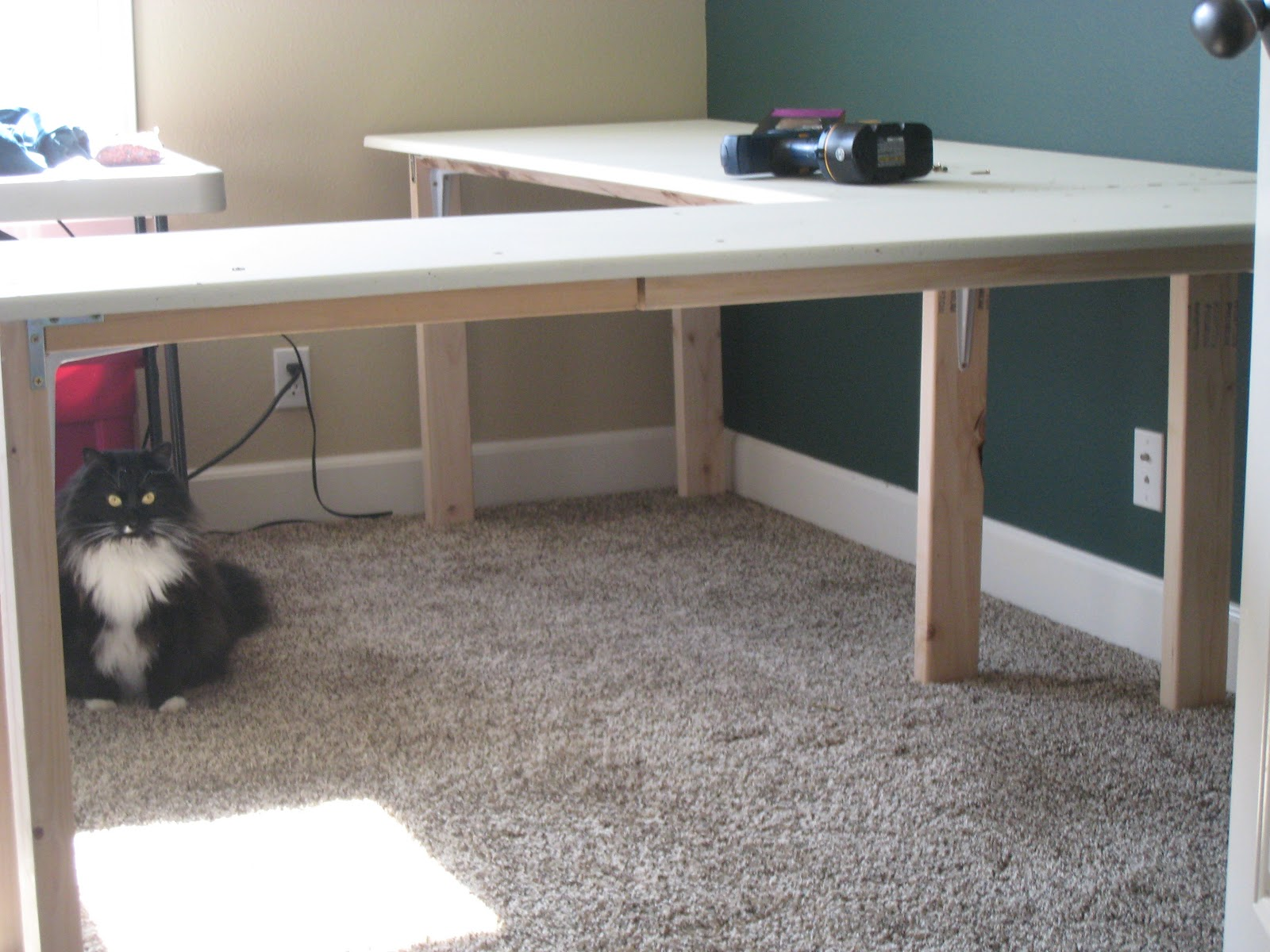 A little yarn on the side sewing furniture for Sewing room furniture