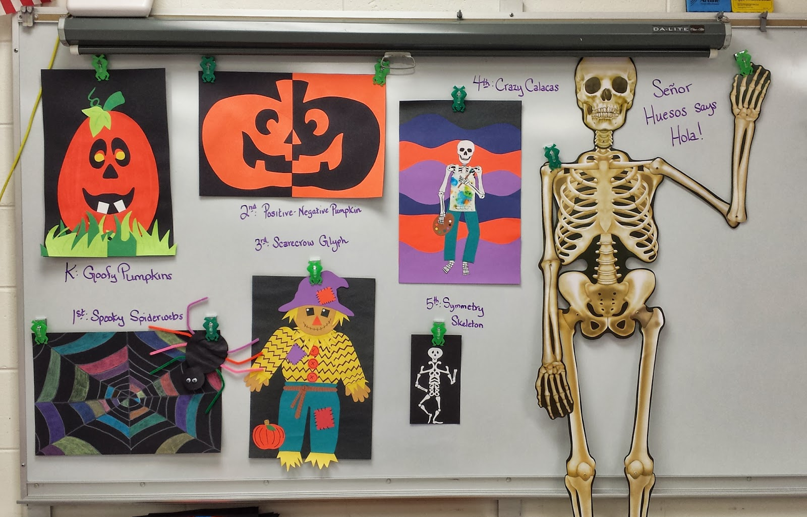 halloween in the art room