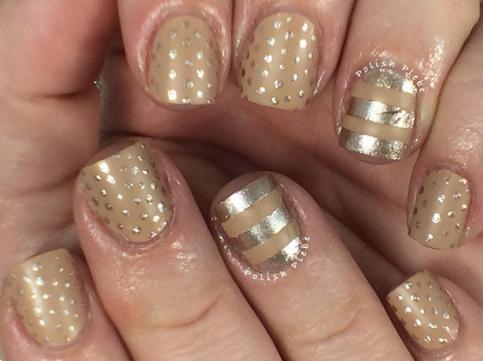Nails Art: Matte & Metallic Nail Art