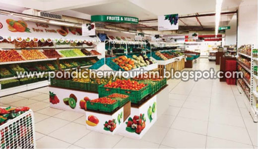 Pothys super market Fruits and vegetables section