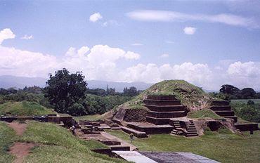 Las Pirámides de San Andrés en El Salvador