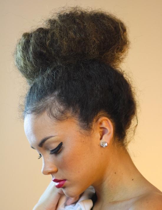 Idees de coiffure pour cheveux crepus court